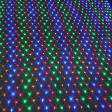 led net lights multi color 3 2m 192leds eu plug wedding party decoration led net string lights