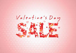 valentines sale sale sign for s day sale business poster shop