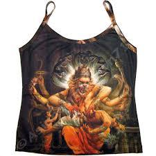 hindu l narasimha vishnu new hindu print shirt singlet tank top