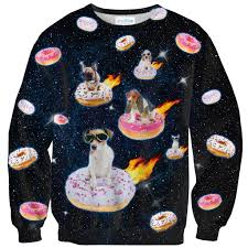 dogs n donuts sweater shelfies