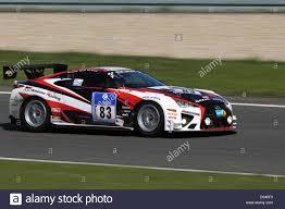 lexus sports car racing the lexus lfa race car of team gazoo racing with one of their