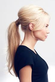 puff hairstyle with ponytail for brunette 17 best ideas about high