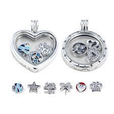 necklace pendant pandora images 2018 diy pandora charms necklace s925 silver locket necklaces jpg