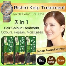 voted best hair dye qoo10 voted 1 in japan for best hair color rishiri natural kelp