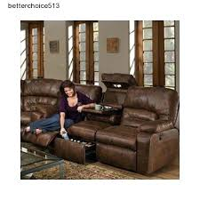 Used Reclining Sofa Used Leather Recliner Sofa Brightmind