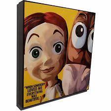 toy story poster jessie ebay