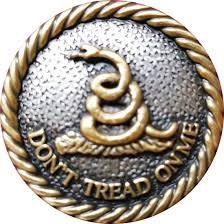 Dont Tread On Me Confederate Flag Amazon Com Decorative Don U0027t Tread On Me Concho Gadsden Flag 1 1