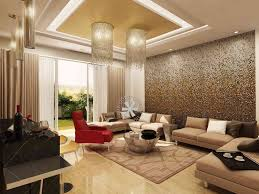 home furnishing design studio in delhi luxurious living room with chandeliers design by architects studio