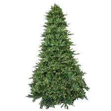 9 ft pre lit led royal fraser fir artificial tree with