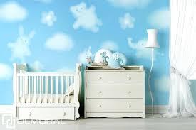 tapisserie chambre d enfant tapisserie chambre d enfant droles de nuages papier peint pour la