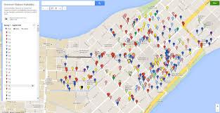 Uw Madison Map Badger Volunteers Complete Comprehensive Walkability Survey Of