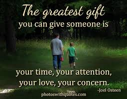 inspirational quote the greatest gift you can give someone quote