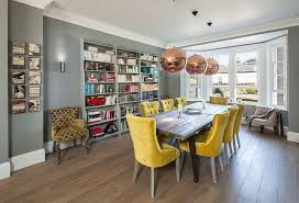 Yellow Grey Chair Design Ideas Wonderful Trendy Color Duo 20 Dining Rooms That Serve Up Gray And