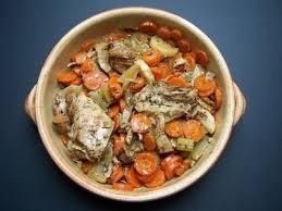 recette de tendrons de veau aux carottes