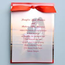layered wedding invitations great ribbon layered wedding invitations infc032 infc032