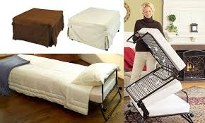 Folding Bed Ottoman Folding Ottoman Single Sofa Bed Groupon Goods