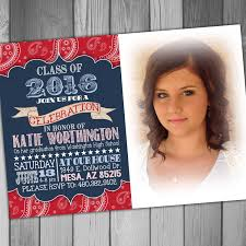 high graduation party invitation college graduation