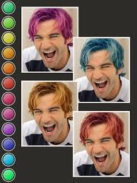what would i look like with different hair hair color booth on the app store