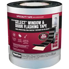 nashua tape 6 in x 50 ft select window and door flashing tape