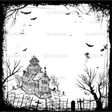 halloween black and white background halloween invitation background clipartsgram com