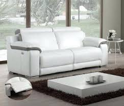 canap cuir relax electrique 3 places canape 3 places relax canapac 3 places relaxation aclectrique