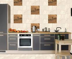 kitchen glass tile wall tiles design rocks random glazed brown