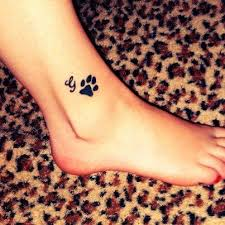 paw print tattoo i would totally think about getting paw print
