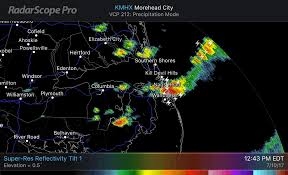 Outerbanks Map Several Formidable Waterspouts Spin Up Near The Outer Banks Of