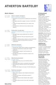 Resume Samples For Designers by Senior Graphic Designer Resume Samples Visualcv Resume Samples