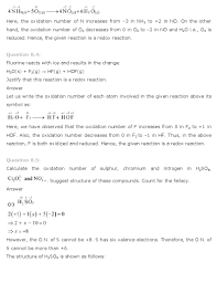 ncert solutions for class 11th chemistry chapter 8 u2013 redox