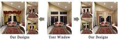 Custom Design Window Treatments Custom Bay Window Kitchen Window Treatments Ulinkly