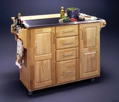 kitchen islands with stainless steel tops kitchen island utility cart wood stainless steel top crosley granite