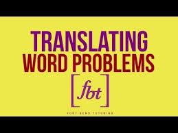 solving word problems by fort bend tutoring fbt