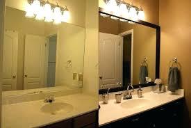 custom mirrors for bathrooms the custom mirrors toronto custom made mirrors for bathroom intended