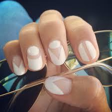 inspiration pics cool manicure ideas negative space white