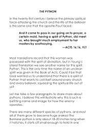 the spirit of python jentezen franklin