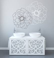 modern flower wall decals for walls stickers for walls zoom
