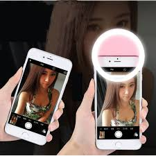 lights when phone rings led selfie l ring light portable flash camera phone photography