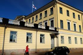 Flags Today At Half Mast Finland Grieves Over The Loss Of Former President Mauno Koivisto