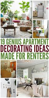 apartment decorating 19 genius apartment decorating ideas made for renters
