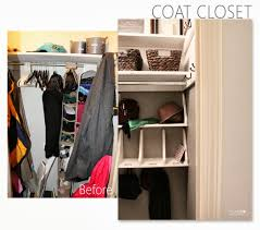 coat closet reveal home made by carmona