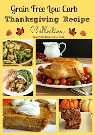 grain free low carb thanksgiving recipe collection and