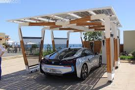 Car Port Designs by Bmw Designworks Solar Carport And Bmw I Wallbox Pro