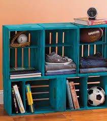 bathroomiy storage shelves made from wooden crates bins boxes amp