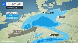 Wildfire Band Bremen by Weekend Chill To Follow Disruptive Snow Into Germany