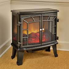 duraflame 950 black electric fireplace stove with remote control dfs 950 4