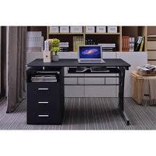 bureau informatique noir bureau informatique noir s 352 2072