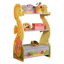 Sunny Safari Bookcase Fantasy Fields Under The Sea Bookshelf Wood Teamson Target