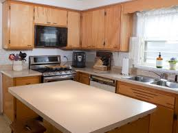 kitchen cabinet materials pictures options tips ideas hgtv transitional kitchen with classic wood cabinets