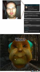 Meme Face Creator - rmx oblivion character creation screen by